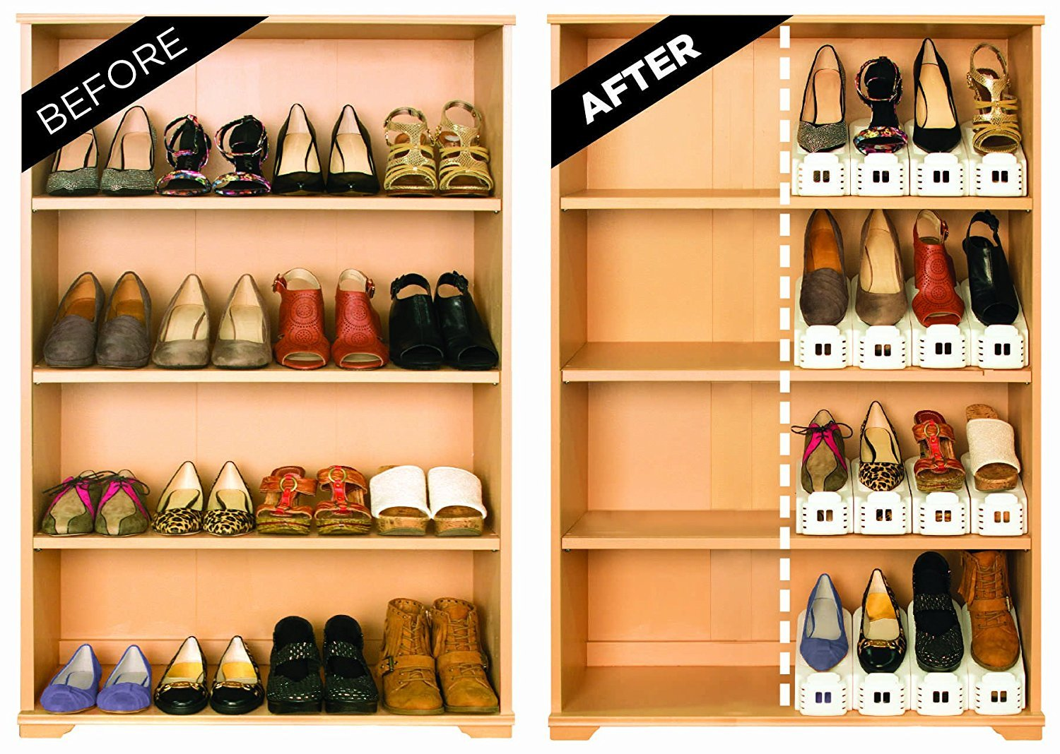 Shoe racks your kids love!