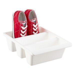3 ection shoe bin
