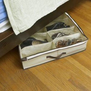 under the bed bag shoe storage