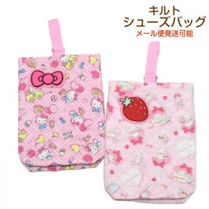 2. hello kitty shoe bag