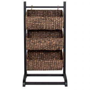 3-tier basket storage