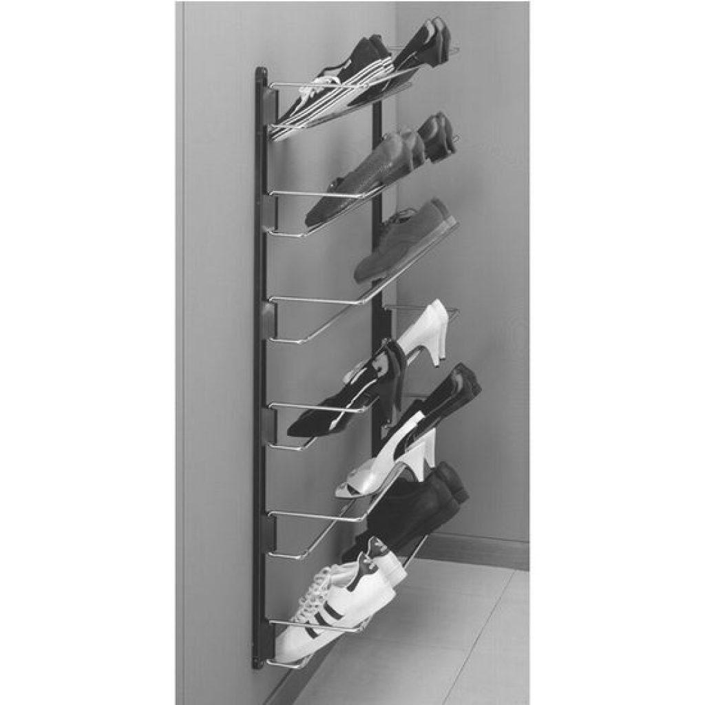 Hafele Wall Mounted Shoe Rack full