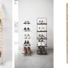 narrow shoe storage