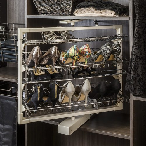 hardware resources rotating shoe rack