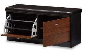 baxton foley modern bench