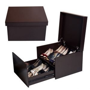 shoe storage box bench