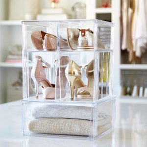 Container Store Premium Stacking Shoe bin