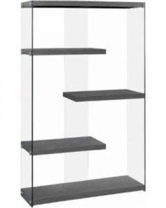 Kendrick Glass Bookcase