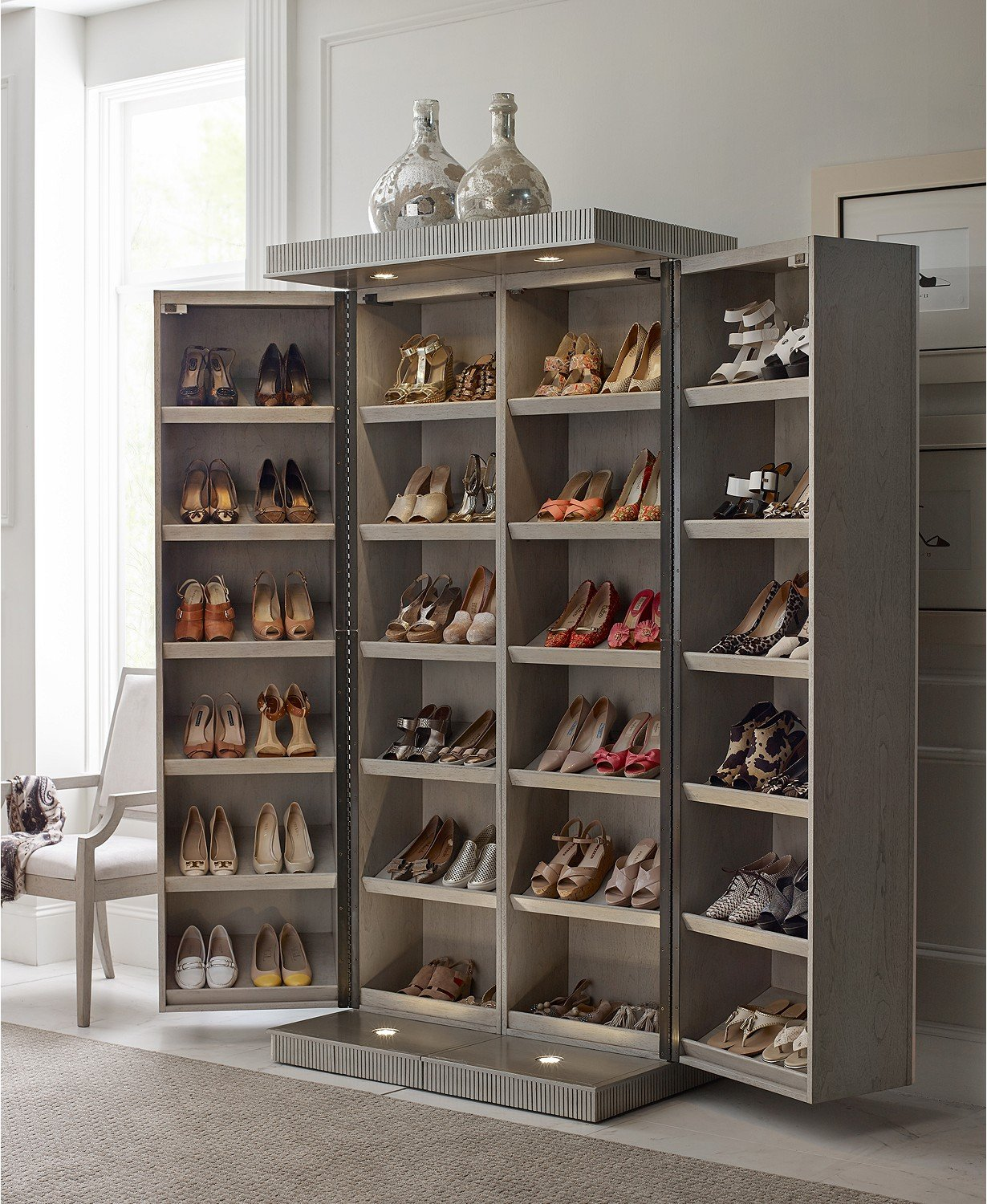 Why not displaying shoes at home?