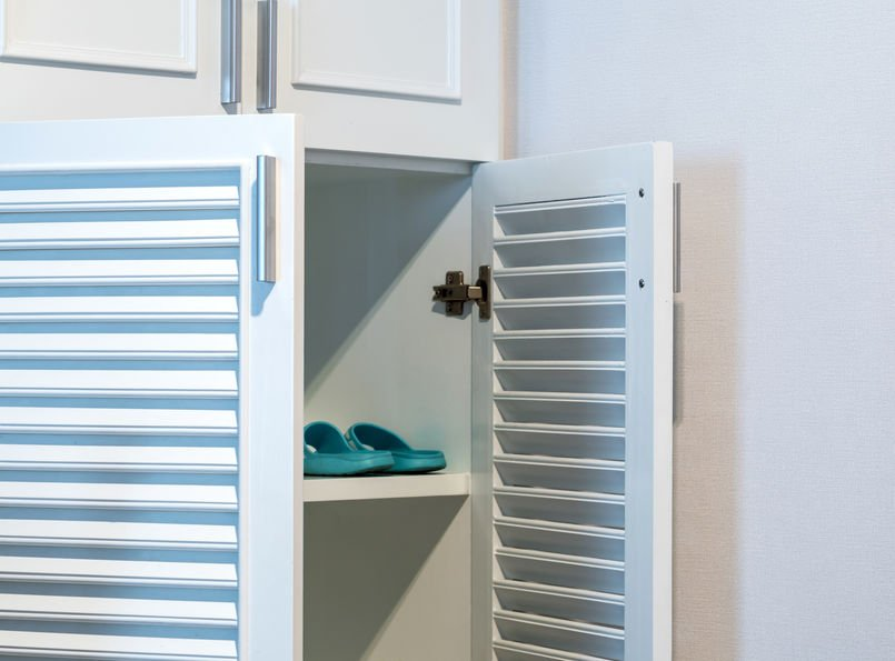 Shoe Locker Storage or shoe cubby at home!