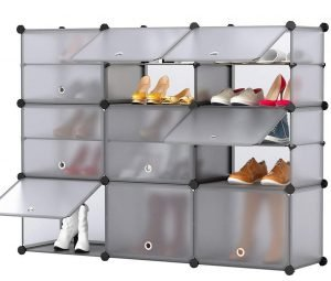 Langria shoe plastic locker
