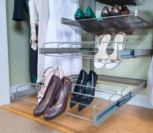 Freedomrail womens shoe rack