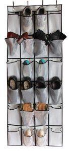 Misslo otd shoe organizer 24 mesh pocket