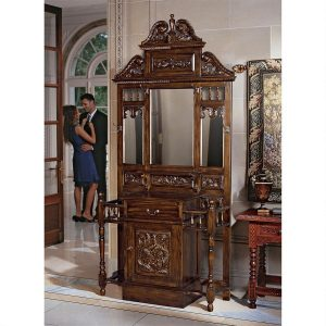 Edgeworth Manor Mahogany Hall Stand