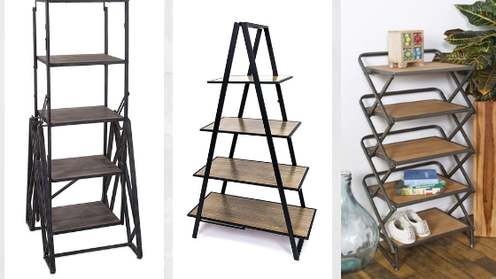 Foldable Shoe Rack: Space saving and multi-function!