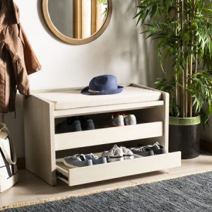 Gunber Wood storage bench