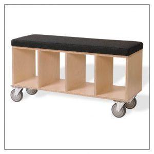 Offi mobile storage bench