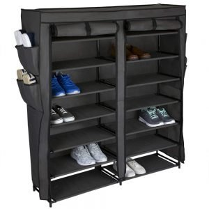 Home Basics Multipurpose Portable Wardrobe Storage Closet