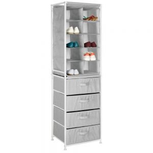 mDesign Soft Fabric 10 Cube with drawers
