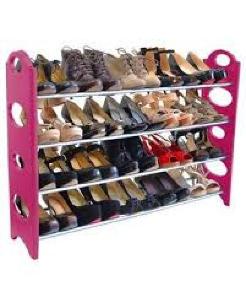 Rebrilliant 4 tier 20 shoe rack