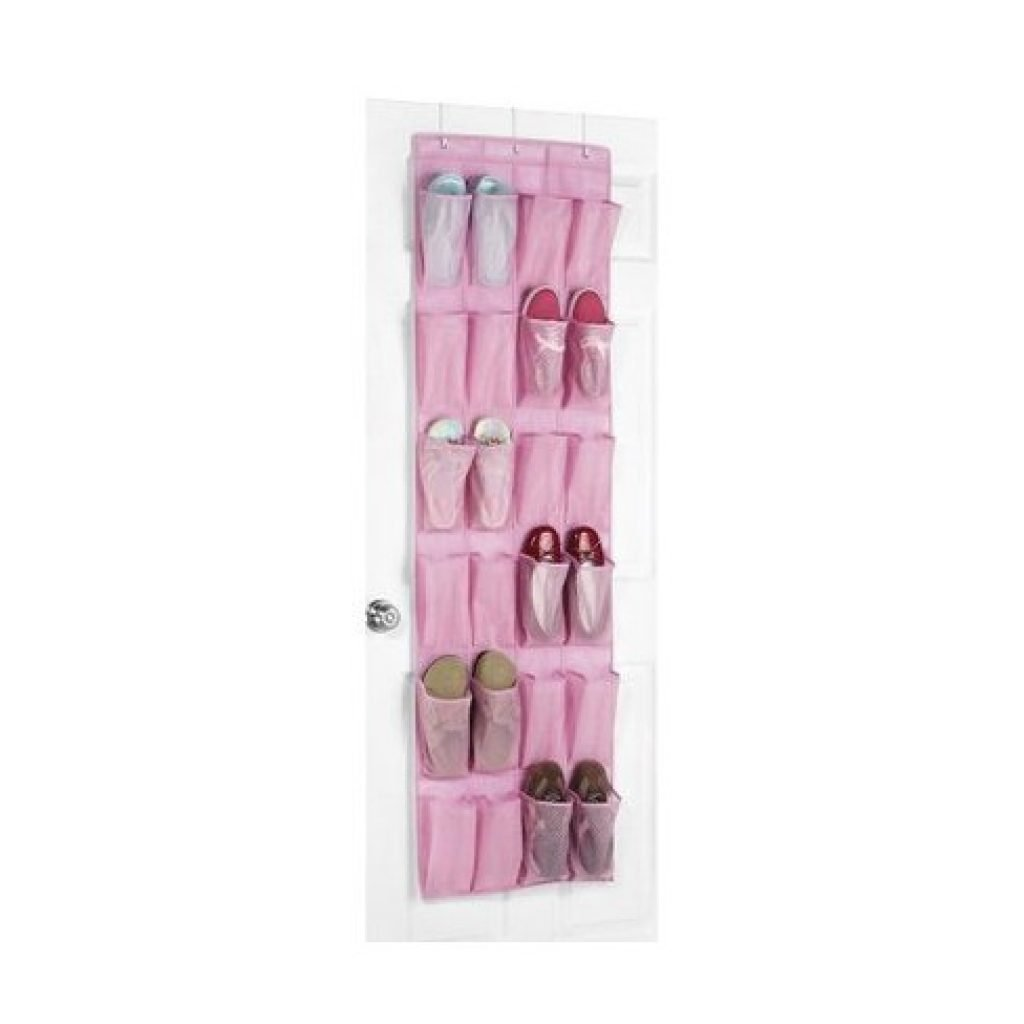Whitmor 24 pockets hanging shoe organizer