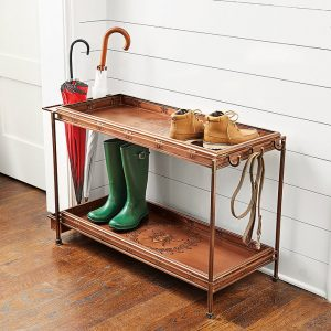 Ballard Double Boot Trays with Frame