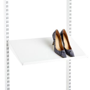 Elfa Angled Solid Metal Shelves