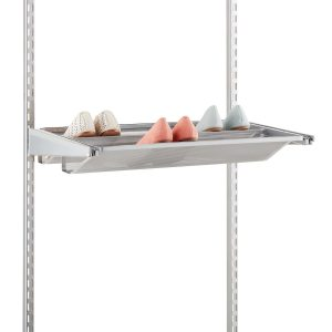 Elfa gliding mesh shoe shelf