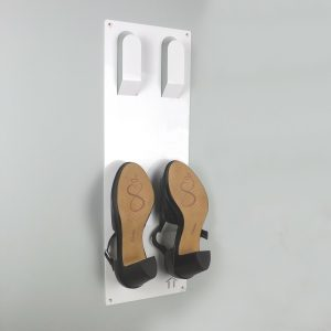 Slimline Wall Mounted Shoe Storage Rack